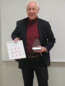 Bertil Månsson, ordförande i PIL. Foto Göran Gustavsson